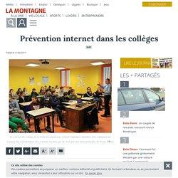 Prévention internet dans les collèges - Giat (63620) - La Montagne