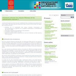 Prévention risques littoraux - Observatoire des Risques Naturels en Languedoc Roussillon