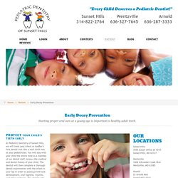 Recognized Pediatric Dentist in St Louis