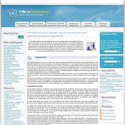 Le facteur humain dans la prévention des risques professionnels