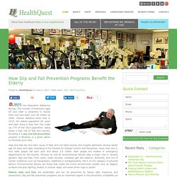 How Slip and Fall Prevention Programs Benefit the Elderly