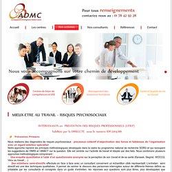 Santé au travail et prévention des risques psychosociaux Paris-ADMC