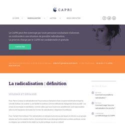 LE CAPRI - Prévention et lutte contre la radicalisation