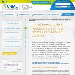 La prévention de la récidive au sein du réseau des Missions Locales