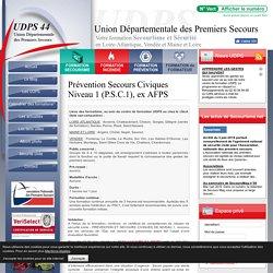 Prévention Secours Civiques Niveau 1 (P.S.C.1), ex AFPS