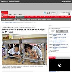 Prévention sismique: le Japon se souvient du 11 mars