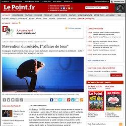 """Prévention du suicide, l'""""affaire de tous"""""""