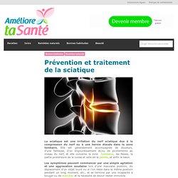Prévention et traitement de la sciatique