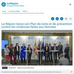 La Région lance son Plan de lutte et de prévention contre les violences faites aux femmes - Sécurité