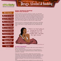 Drug abuse and teens. A preventive guide on drugs abuse, alcoholism and smoking for teenagers..