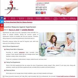 Preventive Measures Against Hypertension