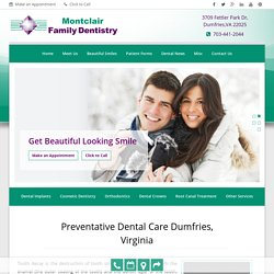 Preventive Dental Care Dumfries