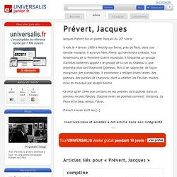 Prévert, Jacques : Universalis Junior