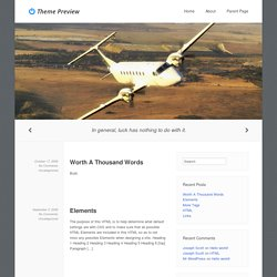 Previewing Another WordPress Blog