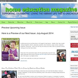 Homeschooling – Home School – Homeschooling for Life – HEM | Home Education Magazine – Network – HEM