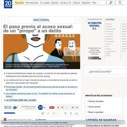 """El paso previo al acoso sexual: de un """"piropo"""" a un delito"""