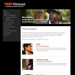 Previous Speakers » TEDx Midwest - Riveting Talks by Remarkable People