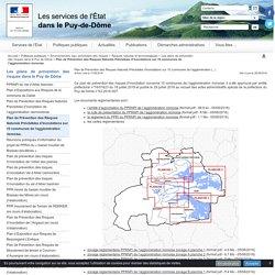 Plan de Prévention des Risques Naturels Prévisibles d'inondations sur 10 communes de l'agglomération riomoise. - Internet des Services de l'Etat du Puy-de-Dôme