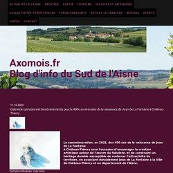 Calendrier prévisionnel des évènements pour le 400e anniversaire de la naissance de Jean de La Fontaine à Château-Thierry...