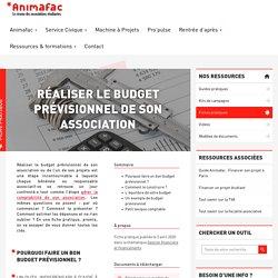 Réaliser le budget prévisionnel d'une association