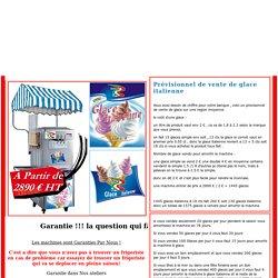 Prévisionnel de vente de glace italienne Machine a glace .com Location / Ventes de machine à glace italienne, granita aux meilleur prix
