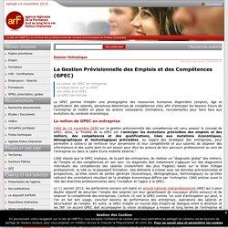 La Gestion prévisionnelle des emplois et des compétences (GPEC)