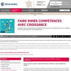 La gestion prévisionnelle des emplois et compétences (GPEC) : domaines d'application