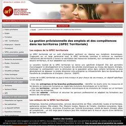 La gestion prévisionnelle des emplois et des compétences dans les territoires (GPECT)