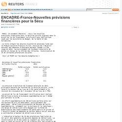 ENCADRE-France-Nouvelles prévisions financières pour la Sécu