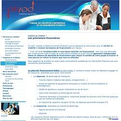Les prévisions financières - PIVOD-78