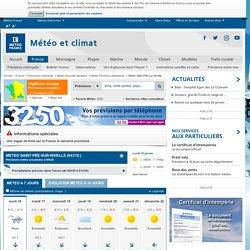 METEO SAINT-PÉE-SUR-NIVELLE par Météo-France - Prévisions Météo gratuites à 15 jours sur toutes les villes de la métropole
