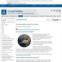 Prévisions saisonnières : définition, fiabilité - Météo-France