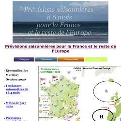 Prévisions saisonnières pour la France