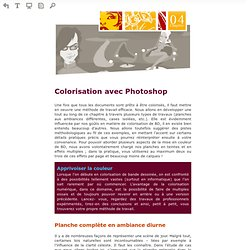 Lire en ligne Coloriser ses BD avec Photoshop - Coloriser ses BD avec Photoshop (Prévisualisation)