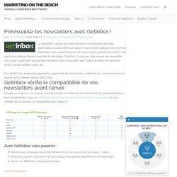 Prévisualise tes newsletters avec Getinbox !