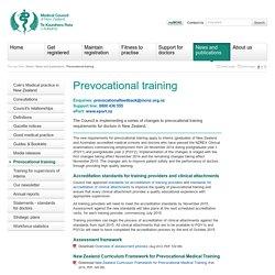 Prevocational training
