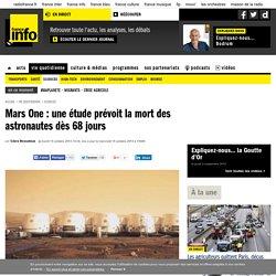 Mars One : une étude prévoit la mort des astronautes dès 68 jours
