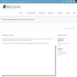Agence de Communication Prezi – Présentation Prezi - Exemple d'infographies en vidéos animées avec Prezi