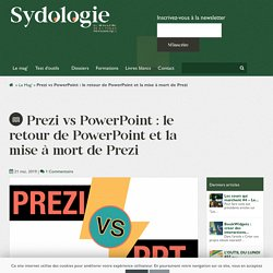 Prezi vs PowerPoint : le retour de PowerPoint et la mise à mort de Prezi
