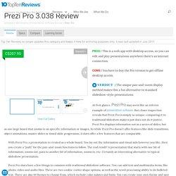 Prezi Pro Review