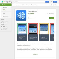 Prezi Viewer - Apps on Google Play