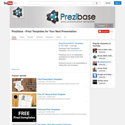 Prezibase - Prezi Templates for Your Next Presentation