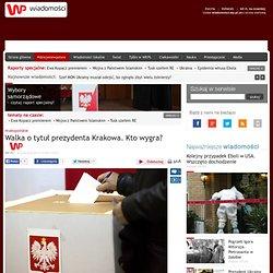 Walka o tytuł prezydenta Krakowa. Kto wygra?
