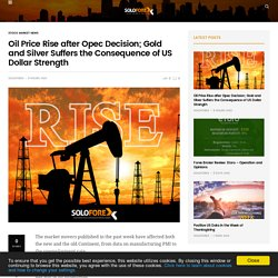 Oil Price rise after Opec Decision - Soloforex.com