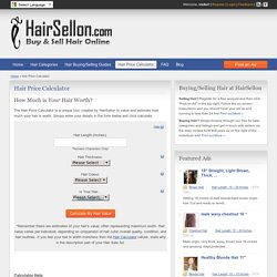 Hair Price Calculator