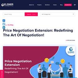 Price Negotiation Extension : Art Of Negotiation!