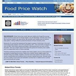 Food Price Watch (Full Report) - November 2011
