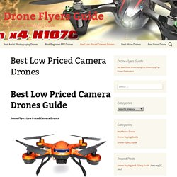 Best Low Priced Camera Drones Tested and Reviewed