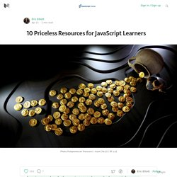 10 Priceless Resources for JavaScript Learners — JavaScript Scene