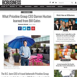 British Columbia Born CEO Darren Huston